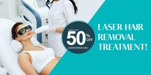 Full body Laser Hair Removal discount Offer