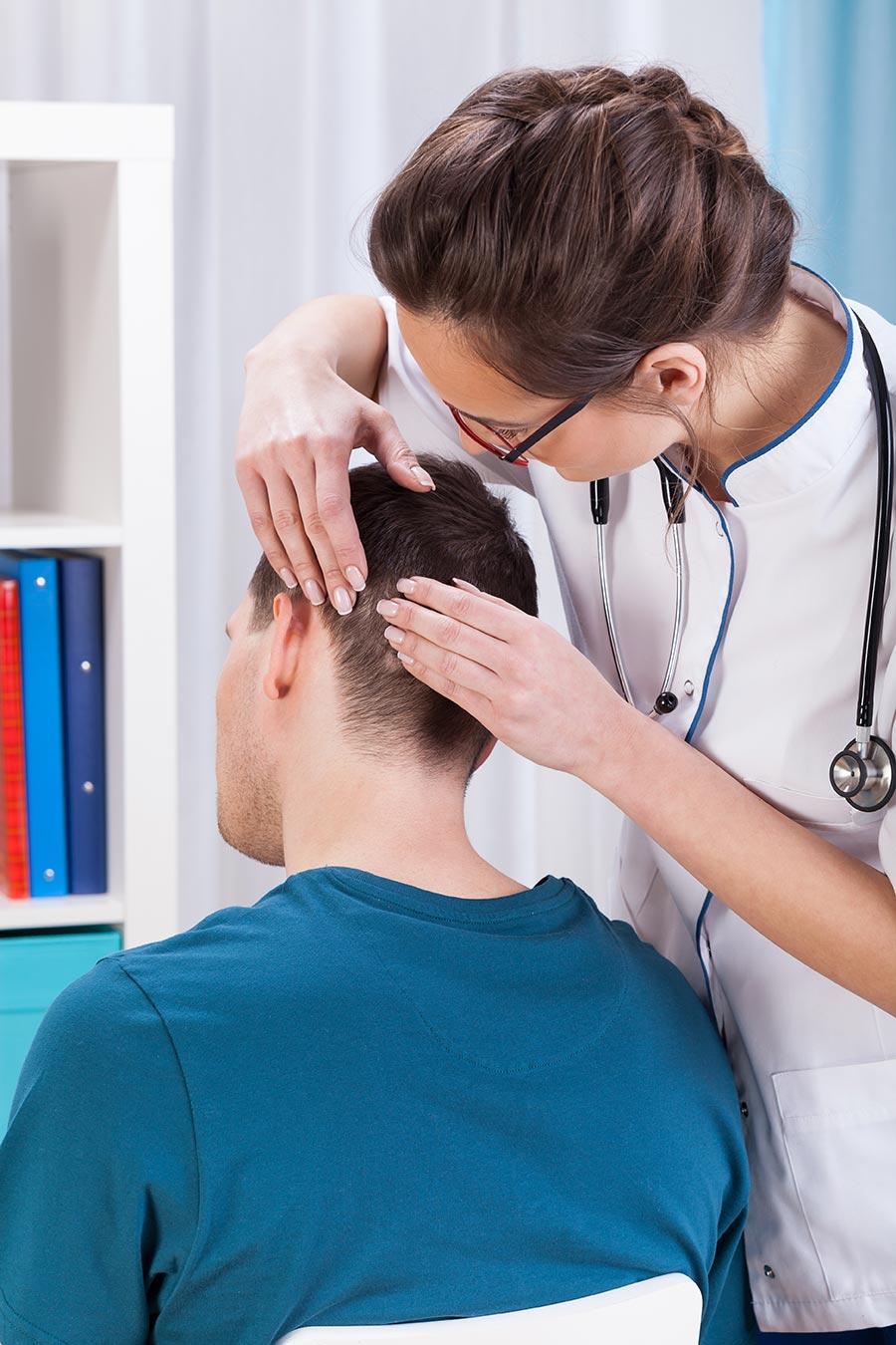 Alopecia treated by dermatologists