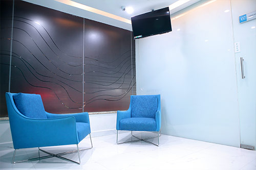 Oliva Clinic Client Lounge