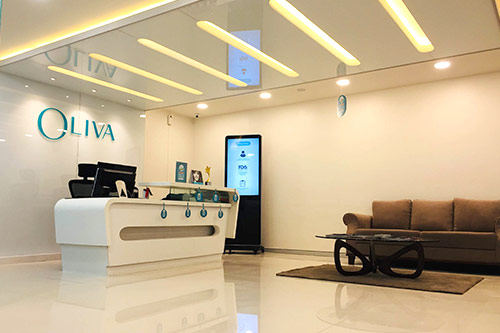 Oliva Clinic Registration Desk