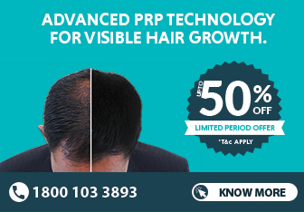 prp hair treatment offer