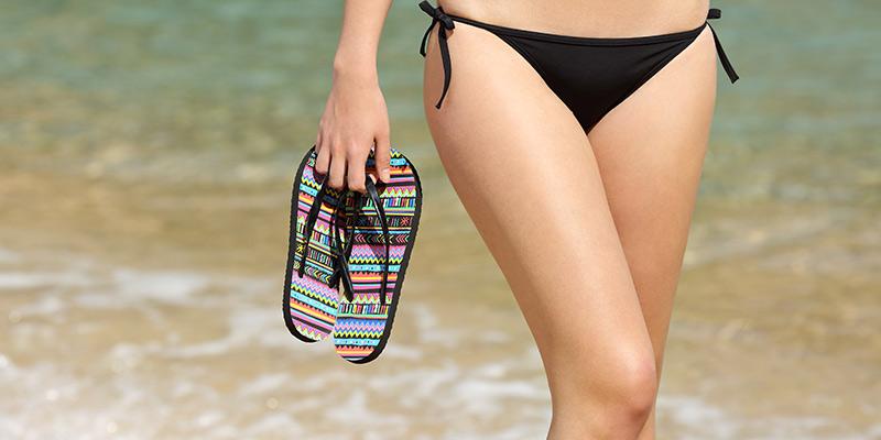 how to remove hair from bikini area