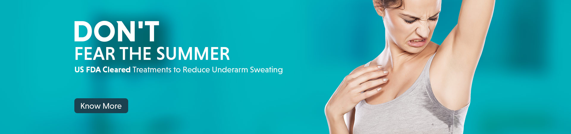 cure for underarm sweat and odor