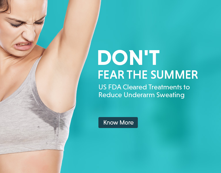 anti sweating treatment offer