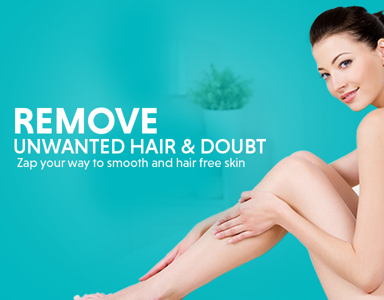 hair removal treatment offer