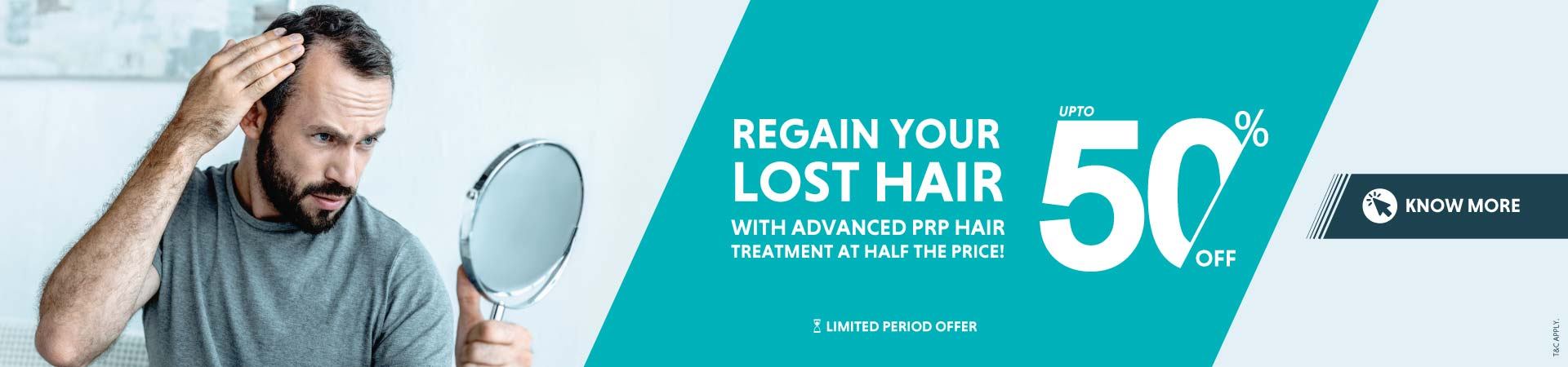 PRP hair regrowth treatment offer oliva clinic
